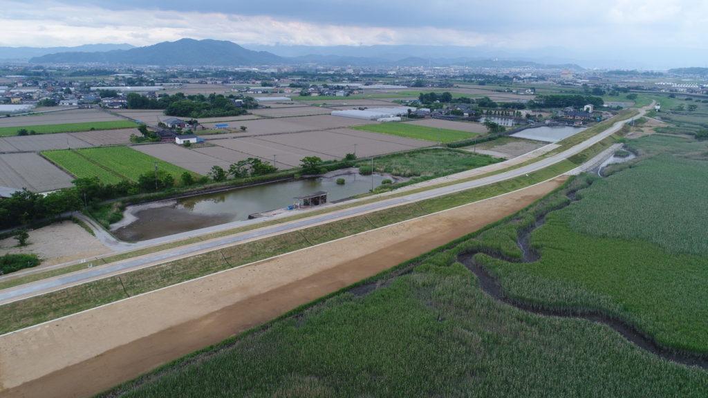 R1・浜戸川走潟中流築堤工事