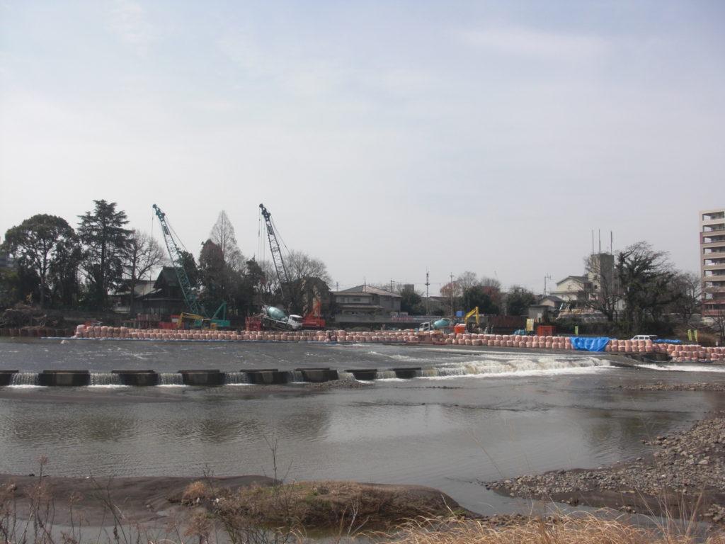 H29・白川渡鹿取水樋門基礎外工事